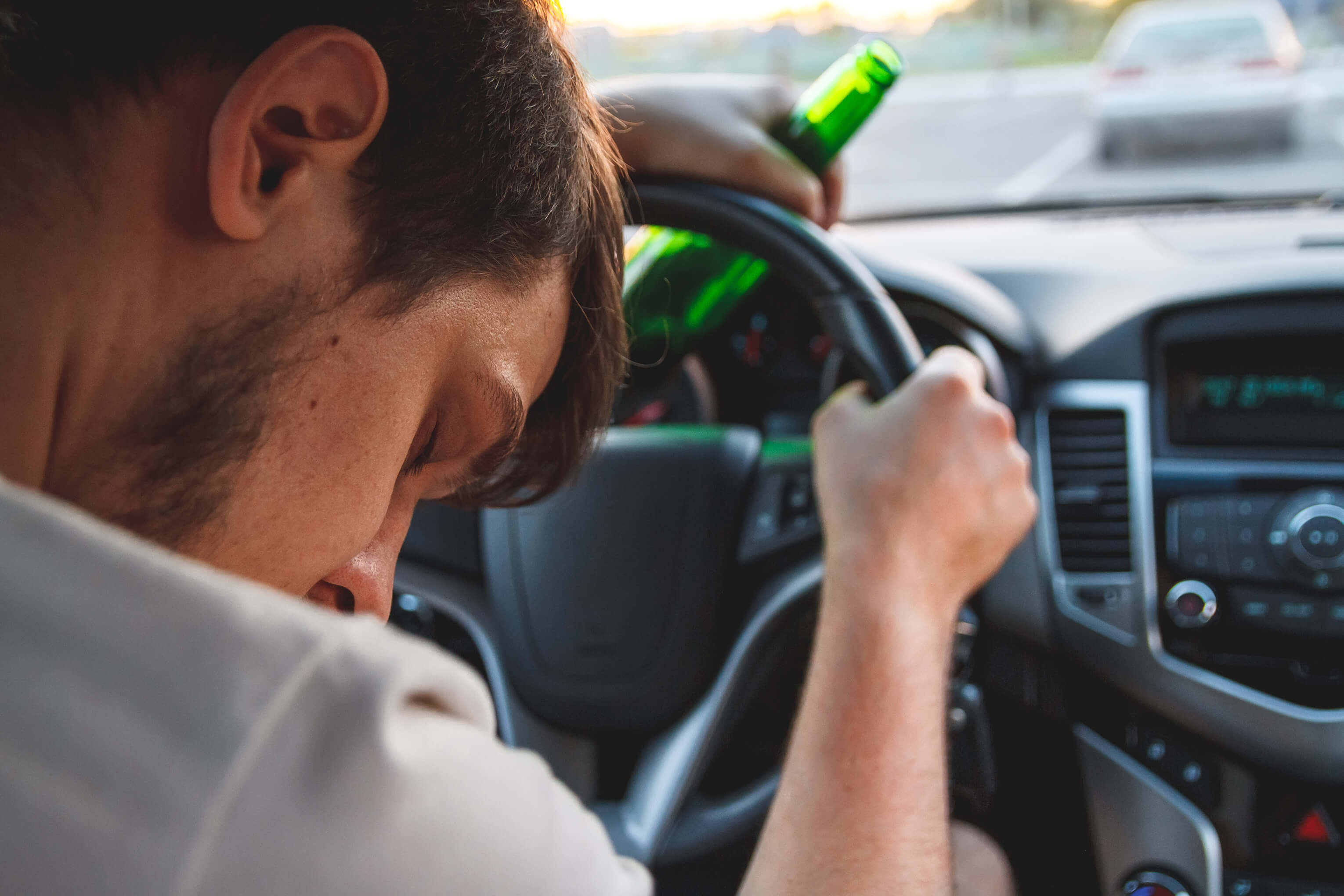 Man passed out with alcohol in the car - Massachusetts DUI attorneys