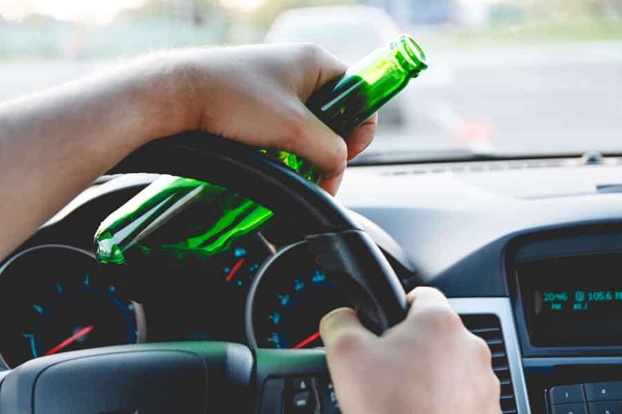 Drinking Behind the Wheel